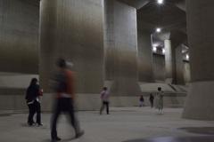 埼玉の地下神殿。2