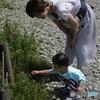 駒ヶ岳山頂にて、ママと息子