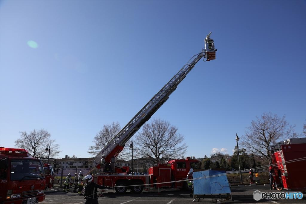 出初め式と消防訓練8