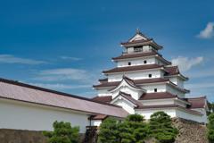 日本100名城 No.16 会津若松城・鶴ヶ城