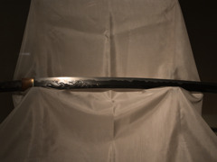 刀~龍の彫物