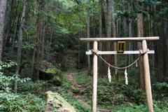 神の領域 高森神社☆