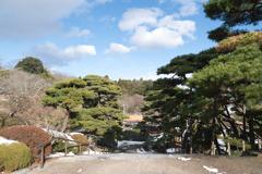 二本松城 二の丸から 日本100名城