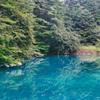Blue lake surface☆