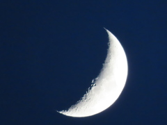 「近地点」地球に一番近い月