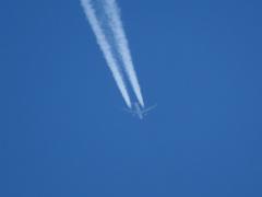 そして飛行機