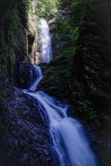 マイナスイオン  竜化の滝