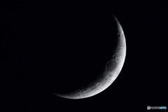 '20.12.18 今宵の月  (月齢3.5)
