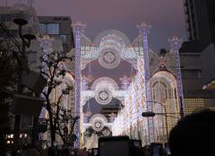 神戸ルミナリエ 2019  ②点灯直後