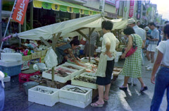 輪島朝市 1980年
