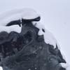 大雪の初詣