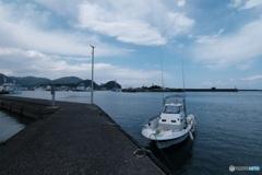 焼津港にて