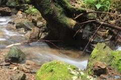 滝の近くで 2