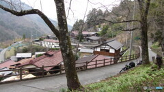 ツーリングの思い出画像  山間の村