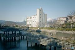 清水船越堤公園 1 古い写真のように