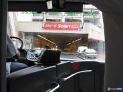 モナコ F1でおなじみのトンネル