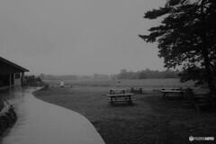 雨の清泉寮