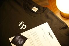 Sigma fp Tシャツ