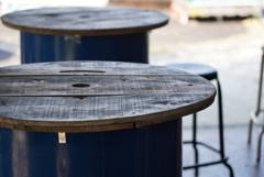 ドラム缶テーブル 2
