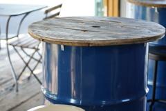 ドラム缶テーブル 3