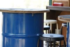 ドラム缶テーブル 1