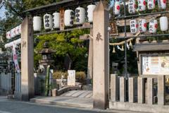 田實神社の鳥居