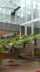 地下街の花壇