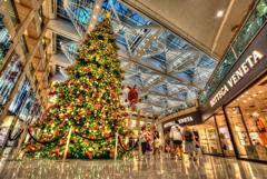 香港クリスマスツリー