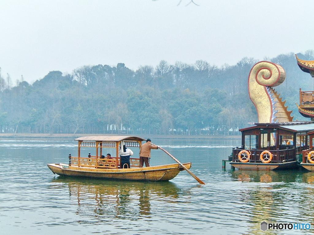 2005年冬中国南部の風景01