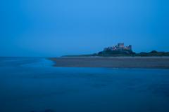 海辺の古城