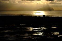 台灣宜蘭龜山島-金色蘭陽