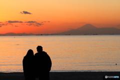 ふたりの富士山