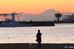 富士山見えるね