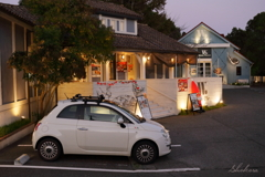 Apple pie store ~Fiat 500~