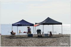 Seaside tent