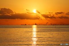 輝く東京湾