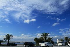 カリフォルニアの?青い空