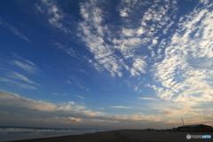 九十九里浜の空