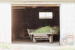牧場の倉庫