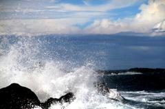 波しぶき2