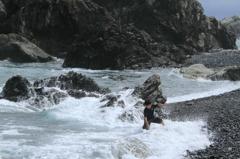 波と戦う!