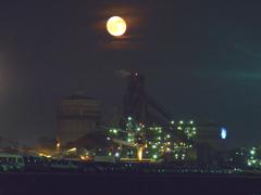 工場の月(違