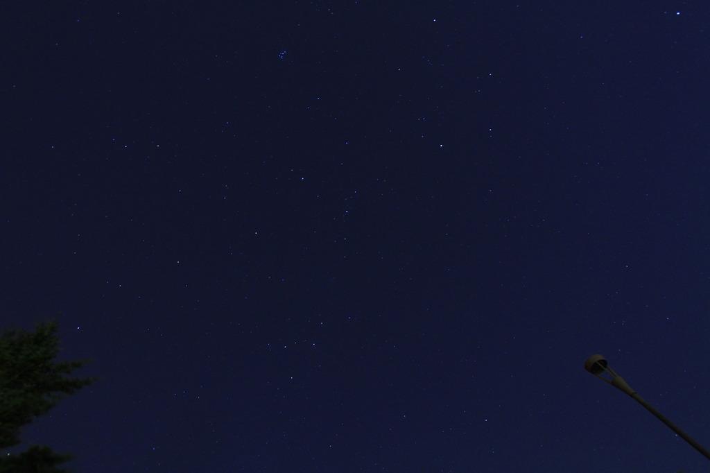 摩耶山からの星空