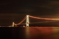 オレンジリボン@明石海峡大橋