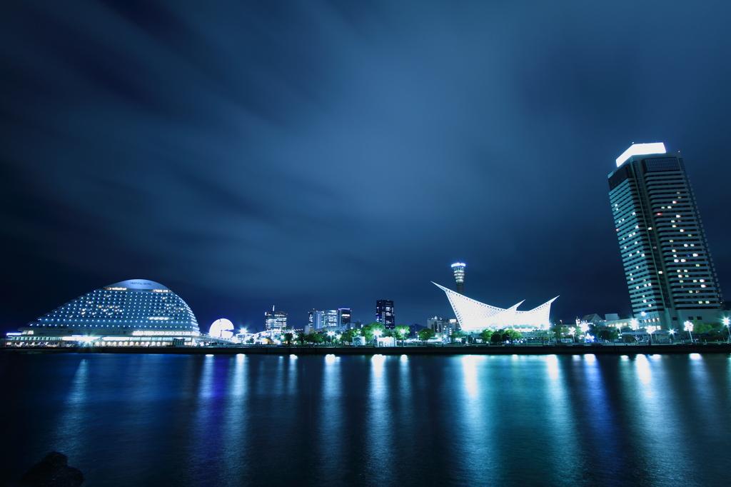 第一突堤から神戸港