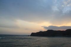 鴨川の夕焼け