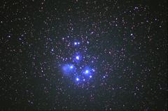 プレアデス星団(M45)