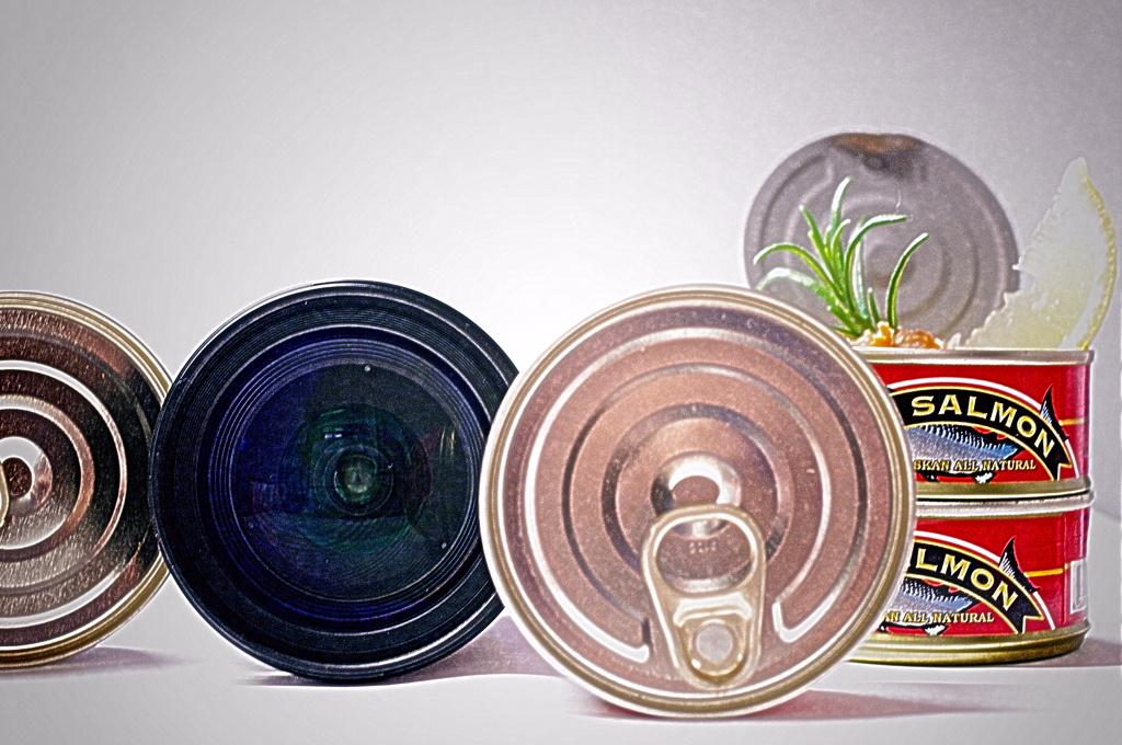 鮭缶のレシピとズームレンズの用途の熟考