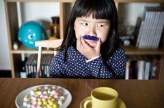 ひげ童女とお茶を
