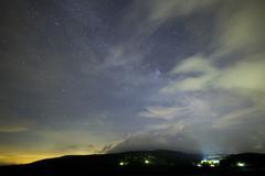 梅雨の星空 シグマ14ミリ試写